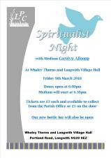 Spiritualist Night