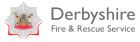Image - Derbyshire Fire & Rescue logo linking to relative website.