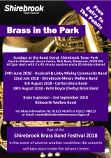 Brass in the Park (Shirebrook Town Council)