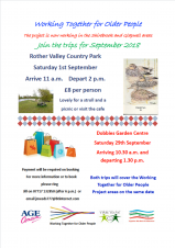 Poster - Rother Valley Country Park (Working Together for Older People)