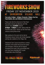 Fireworks Display (Shirebrook Town Council)
